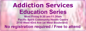 Addiction Services Education Series 2014 - corrected